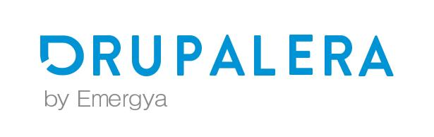 Drupalera by Emergya black logo