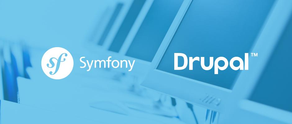 symfony + drupal 8